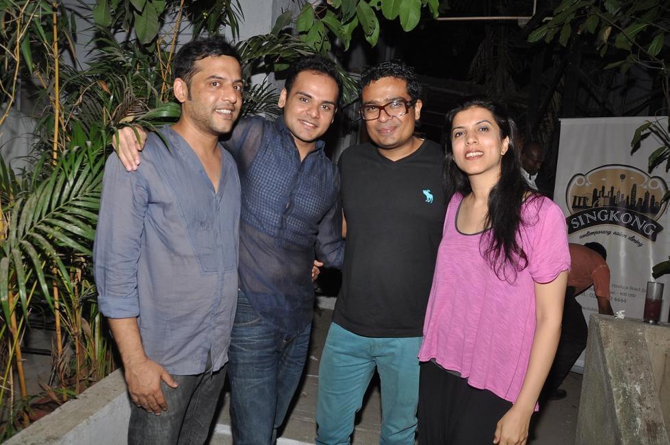 Tejas Mangeshkar, Ashiesh Shah, Jitish Kallat & Reena Kallat