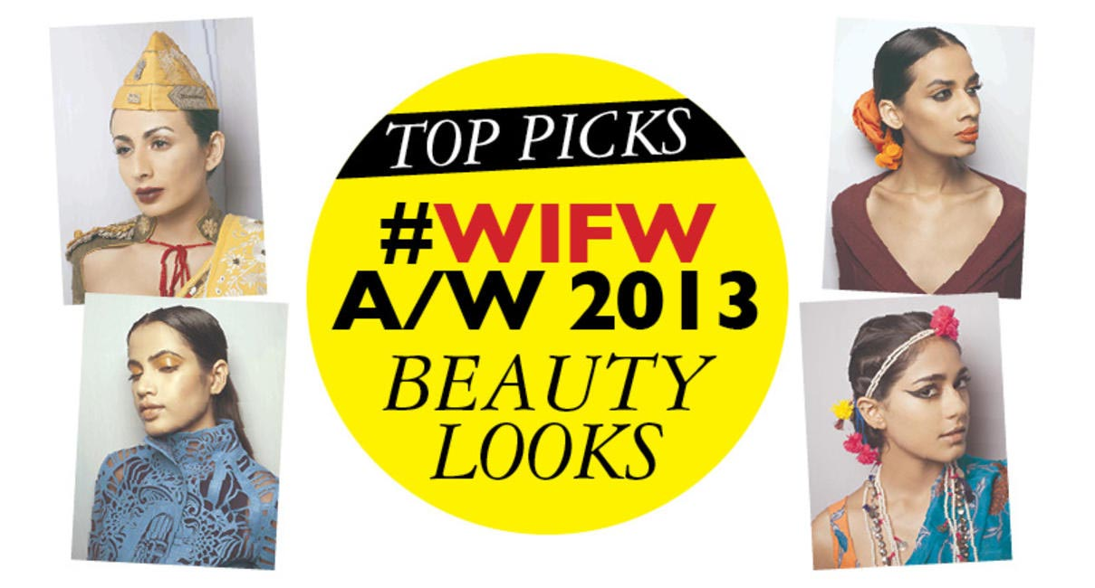 WIFW-Beauty looks