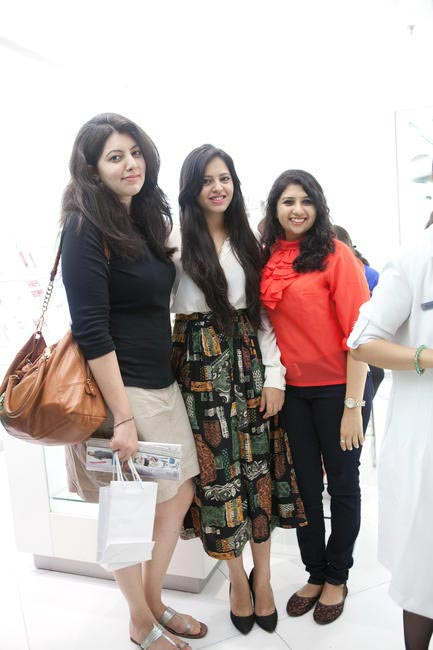 Blogger Aayushi Bangur with her contest winners
