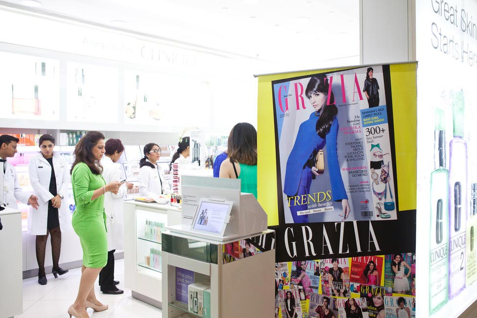 Clinique store at Palladium Mall