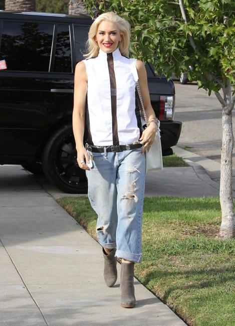 Gwen Stefani in Levi's 501