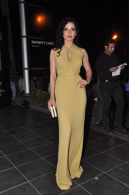 Kangana Ranaut wore two Burberry Prorsum outfits to back-to-back events