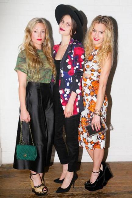 Kate Foley, Tali Lennox, Chelsea Leyland