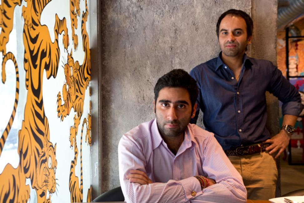 Mamagoto founders - Rahul Khanna and Kabir Suri