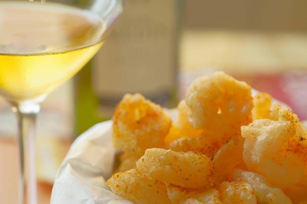 Mamagoto's Rock shrimp tempura