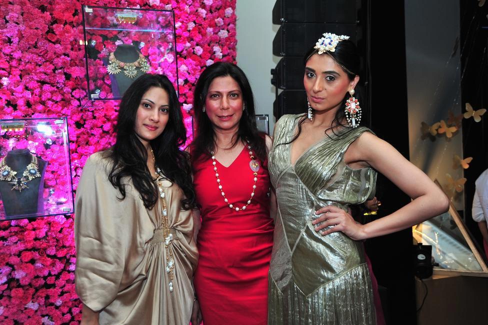 Radhika Jha, Harmeet Bajaj and Pernia Qureshi