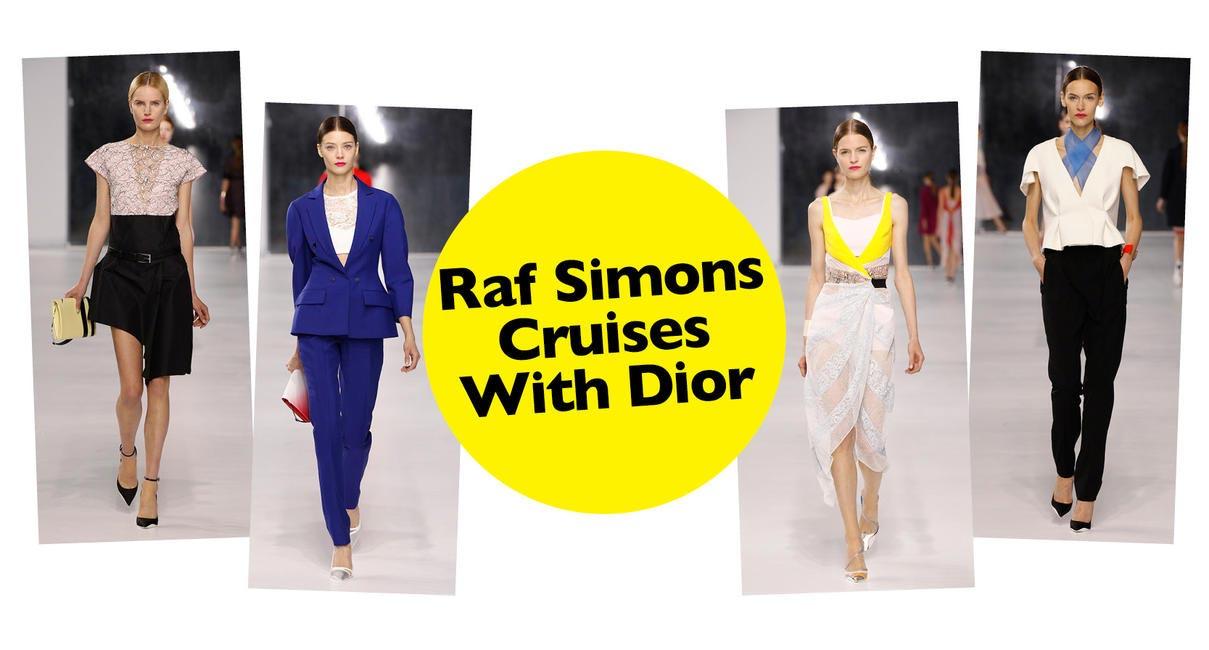 Raf Simons Cruises With Dior