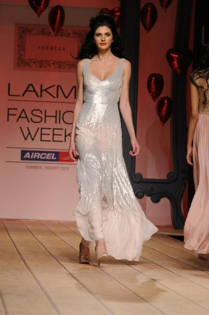 Shehla Khan's SS 13 collection is all about sheer