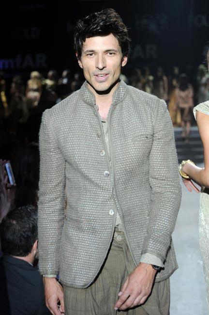 Spanish male model Andres Velencoso Segura for Tarun Tahiliani