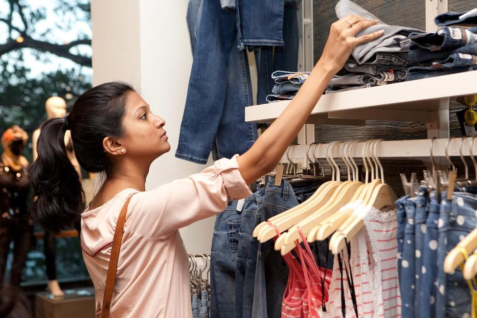 This or that? Happy shopper at Only's Khar outlet