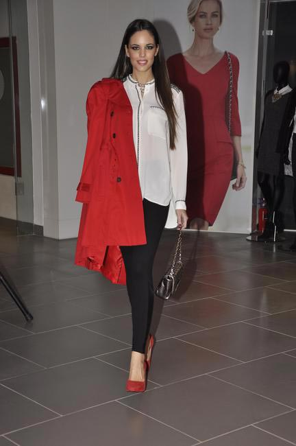 1. Model at the fashion show during the official opening of M&S Bandra Store, Mumbai