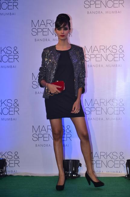 8. Model at the fashion show during the official opening of M&S Bandra Store, Mumbai