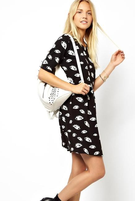ASOS Eye Print Dress