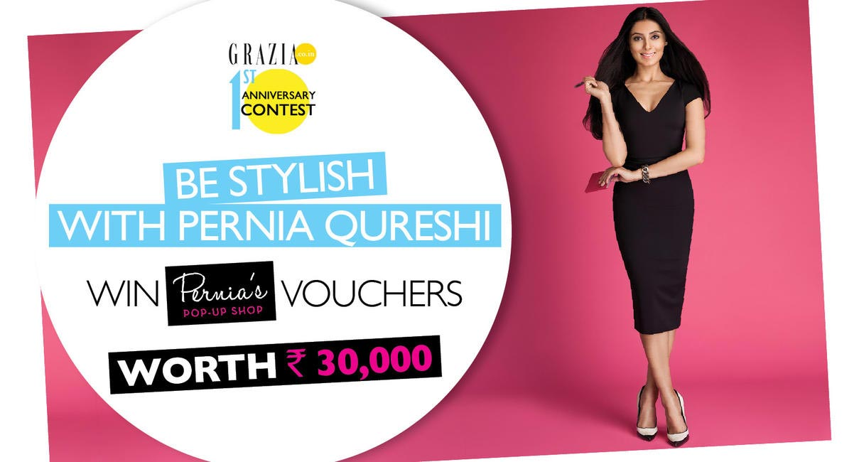 aef844d9b109 Grazia.co.in 1st Anniversary Celebration - Be Stylish with Pernia Qureshi  Contest