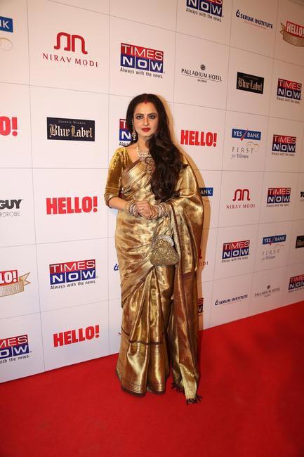 Legendary Rekha  at Hello! Hall Of Fame Awards
