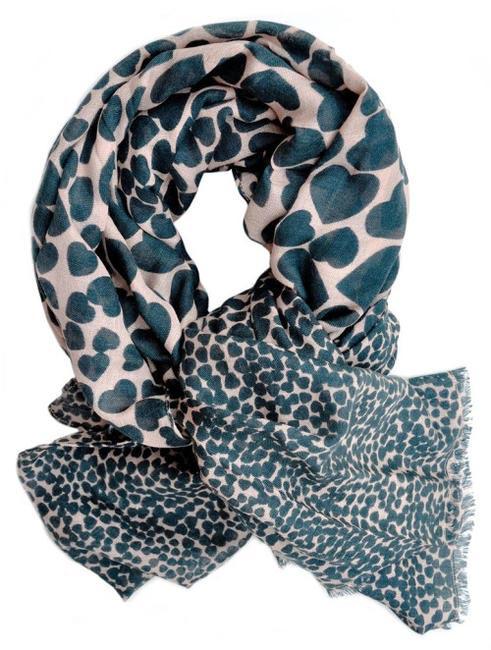 Leif heart print scarf