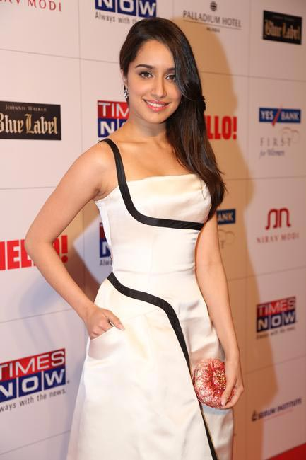 Shraddha Kapoor chose a Dior dress for the Hello! Hall Of Fame Awards