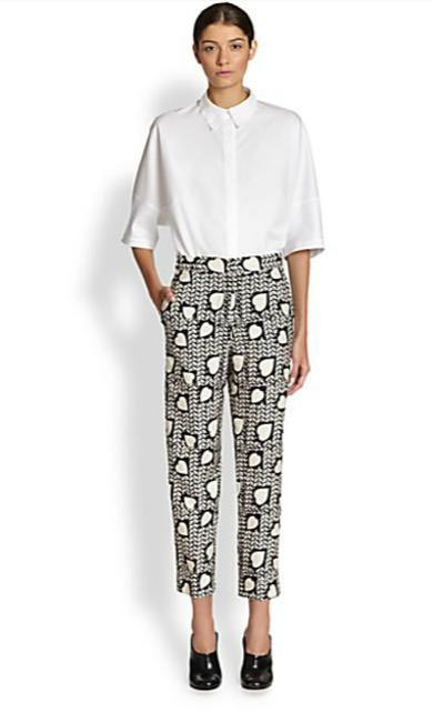 Stella McCartney heart trousers