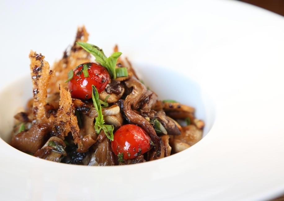 Warm Three Mushroom Salad