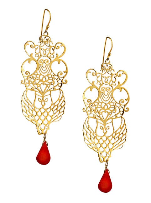 Eina Ahaluwalia Lakshmi earrings, price on request