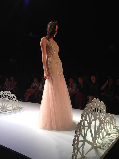 Geisha Designs used tulle, silk and lace to create some lovely pieces for the next summer