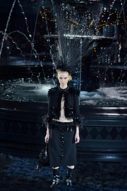 Jacobs' last collection for LV at Paris Fashion Week SS 2014