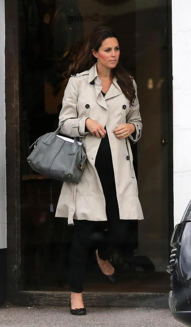 Kate Middleton with her Tod's D Bag