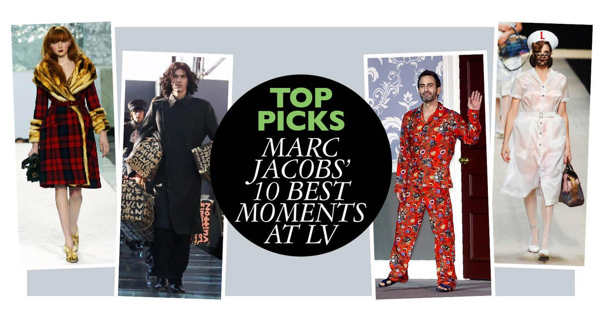 Marc Jacobs' Top Ten Moments At LV