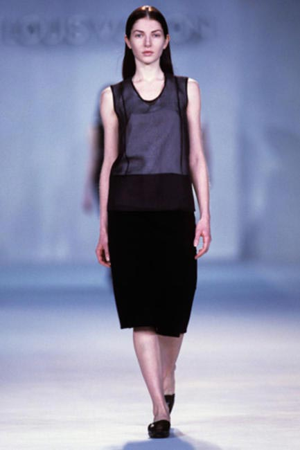 Marc's first collection at Louis Vuitton in 1998