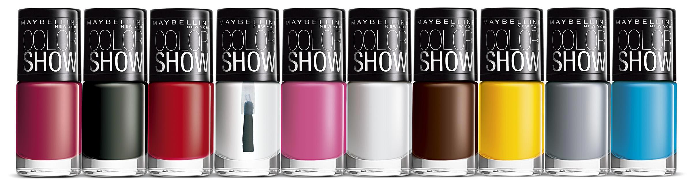 Maybelline New York Color Show Rs. 75 each
