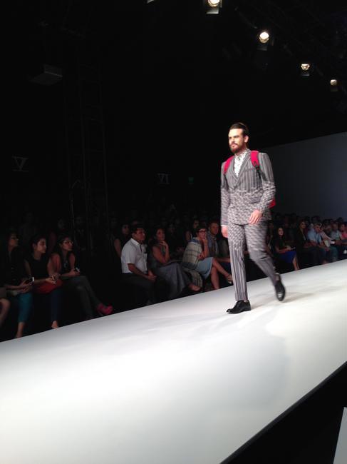 Menswear by  Josh Goraya - WIFW SS14