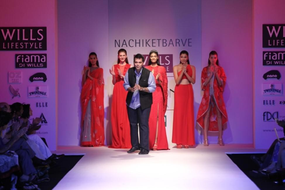 Nachiket Barve's SS '14 collection is something to look forward to next summer