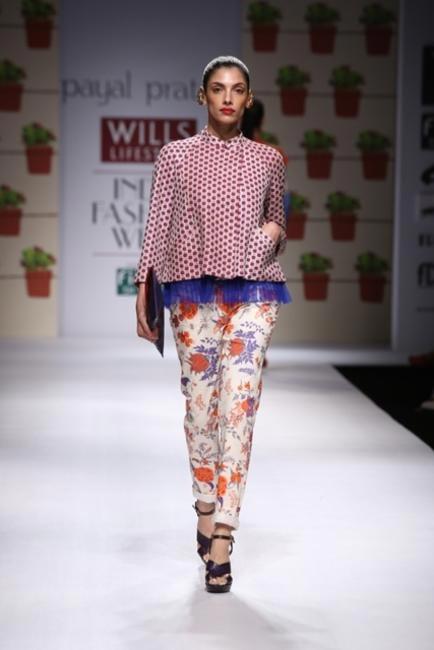 Payal Pratap - WIFW Spring Summer 2014