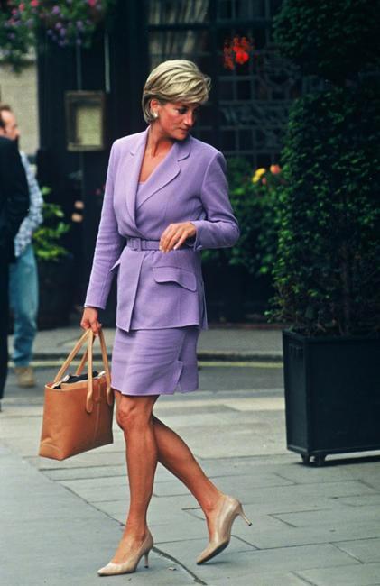 Princess Diana with Tod's D-bag