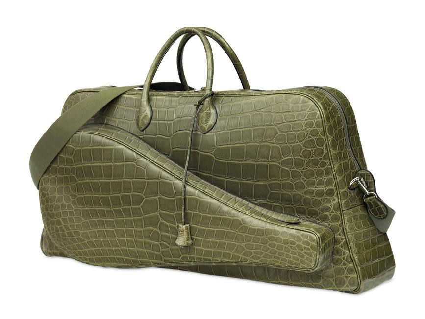 Herme�?s offers Lacoste a crocodile tennis bag