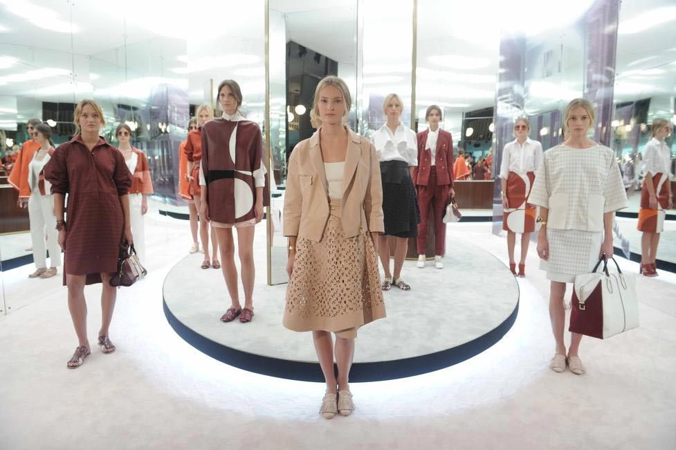 It was also Tod's first ready-to-wear collection