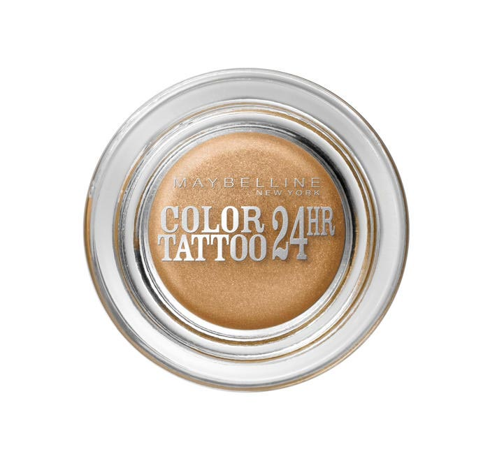 Maybelline New York Color Tattoo Eyeshadow in Bold Gold, Rs 350