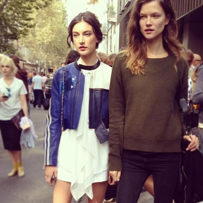 Models off duty via @annyting1025