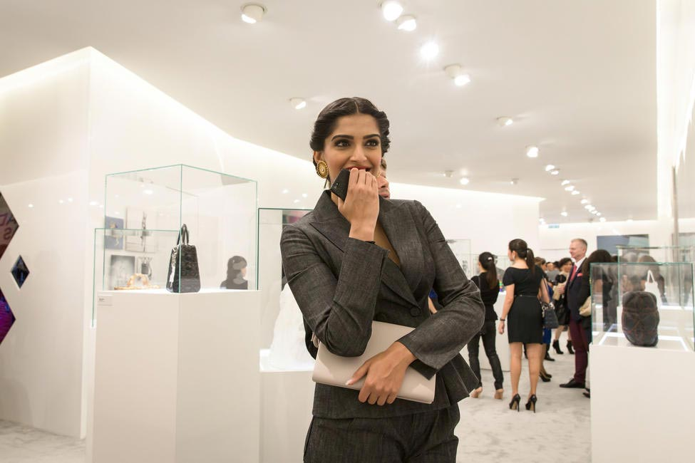 Sonam Kapoor at Lady Dior As Seen By event in Hong Kong