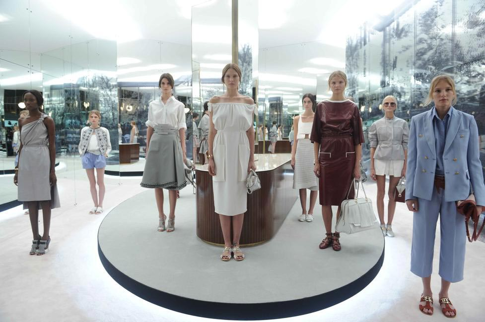 Tod's first ever runway show took place at Milan Fashion Week SS '14