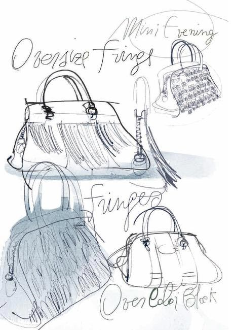 Tod's Sella bag with fringe or over-size fringe? Take your pic