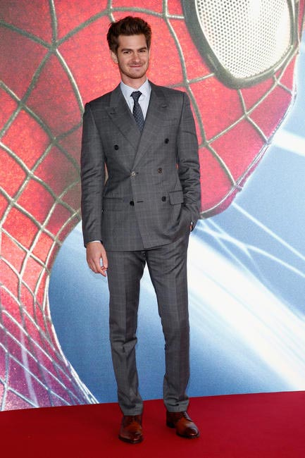 Andrew Garfield in Louis Vuitton