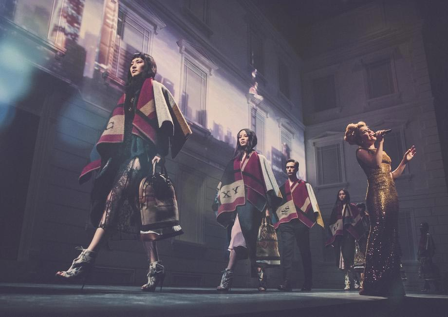 Burberry brings London to Shanghai - British musician Paloma Faith performing live at the event in China