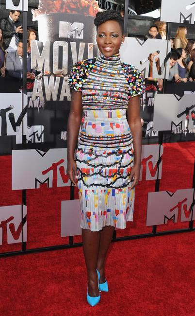 Grazia Fashion Jury - Lupita Nyong'o in Chanel at the 2014 MTV Movie Awards