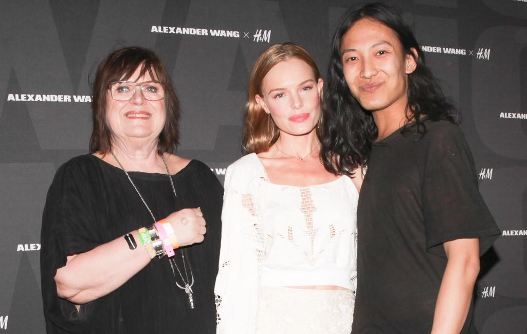 H&M's Margareta van den Bosch, Kate Bosworth and Alexander Wang