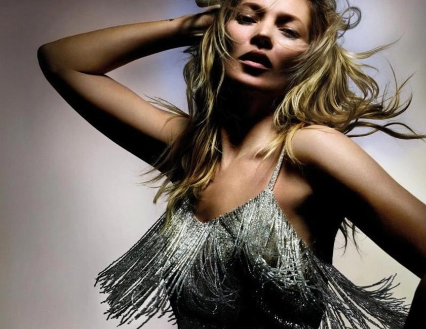 Kate Moss Shines On With Topshop