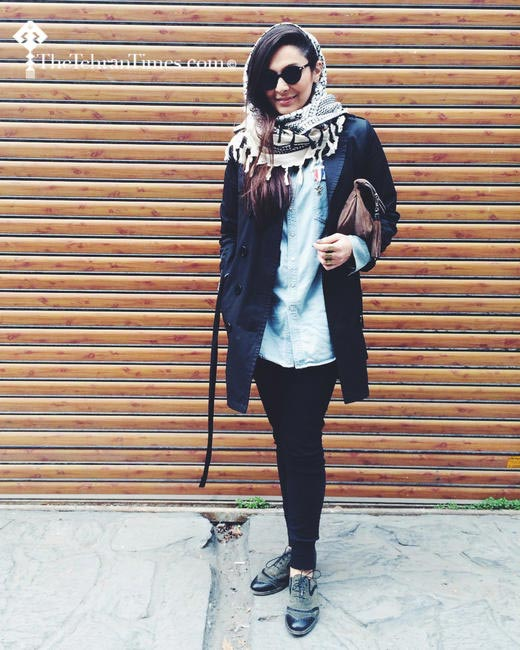 These pictures of Iranian street style is a revelation of sorts. Photo - The Tehran Times