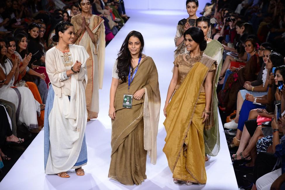Anavila's and show stopper Konkona Sen Sharma