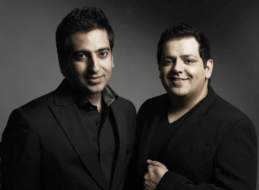 Desginers Rahul Khanna & Rohit Gandhi