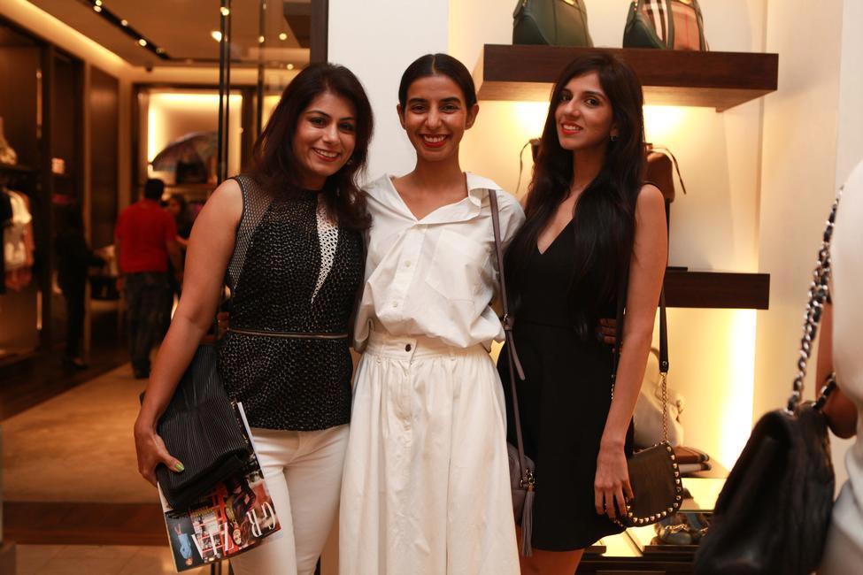 Ekta Rajani with Deepika Gehani and Nishka Lulla